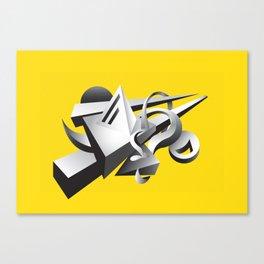 geoMETRICA Canvas Print