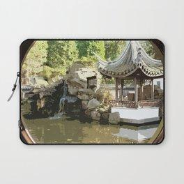 Japanese Tea Garden Laptop Sleeve