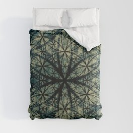 Sacred Geometry for your daily life -  ESOTERIC FLOWER OF LIFE Comforters