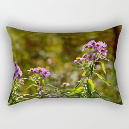 Complimentary Flowers Rectangular Pillow