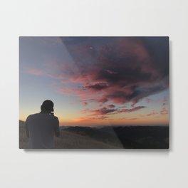 Untitled Sunset #3 Metal Print