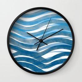Ocean's Skin Wall Clock