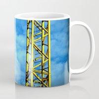 crane Mugs featuring Crane by Annabies