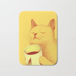 Coffe cat Bath Mat