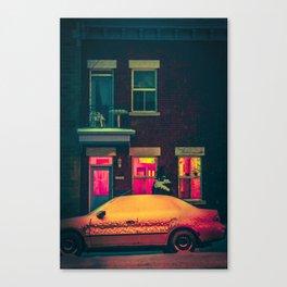 MTL Streetscape Canvas Print