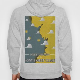 Meet the Sun on the North West Coast Hoody