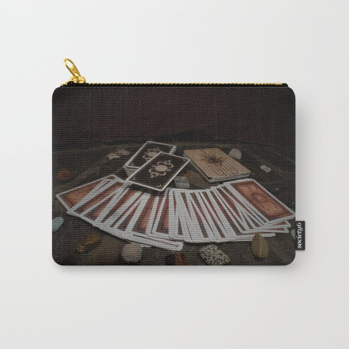 Card readings and Stones Carry-All Pouch