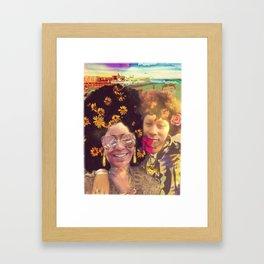 Sistas Framed Art Print