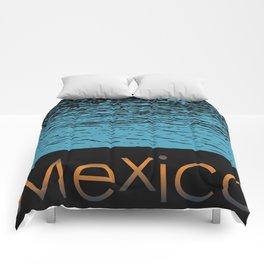 Mexico Logo Comforters