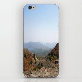The Winding Road of Datca Peninsula, Turkey iPhone Skin