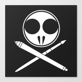 Withdrawn Logo Canvas Print