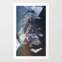 san francisco Art Prints featuring San Francisco by Herwig Scherabon