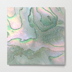 Shell Texture Metal Print