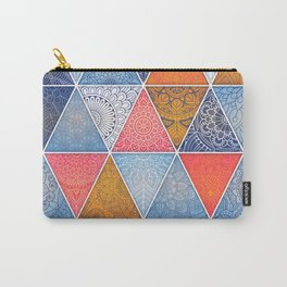 Pattern Mandala Losange Carry-All Pouch