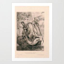 Les Pecheurs De Sirenes Art Print