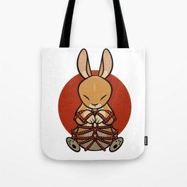 Rope Bunny Tote Bag