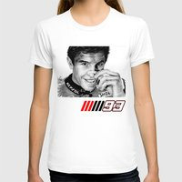 marc T-shirts featuring The champ Marc Marquez by Mike Sarda