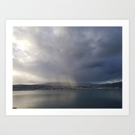 Sunrays Over Dunedin Art Print