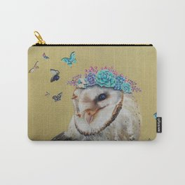 The Butterfly Effect Barn Owl Carry-All Pouch