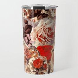 Vintage Roses Travel Mug