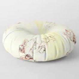 Crooked Creek #4 Floor Pillow