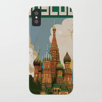 moscow iPhone & iPod Cases featuring Moscow  by Nick's Emporium Gallery