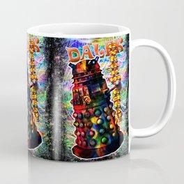 Dalek - Exterminate! by Mark Compton Coffee Mug