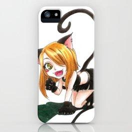 Neko Kami iPhone Case