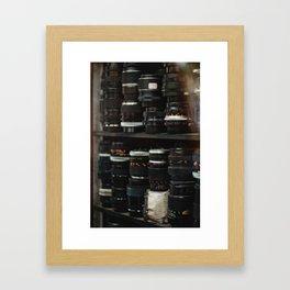 Lenses Framed Art Print