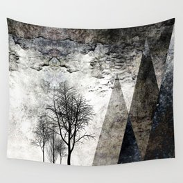 TREES besides MAGIC MOUNTAINS I Wall Tapestry