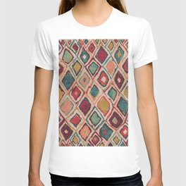 V38 EPIC ANTHROPOLOGIE MOROCCAN CARPET TEXTURE T-shirt