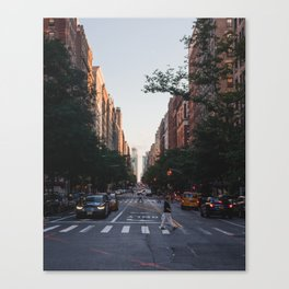West Side Evenings Canvas Print