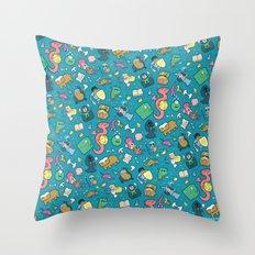 Dungeons & Patterns Throw Pillow