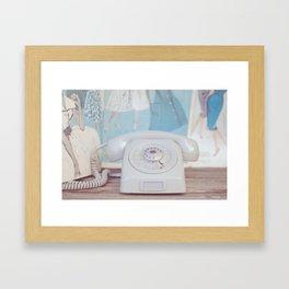 Ring Ring Framed Art Print