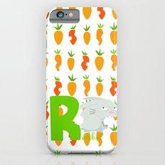 r for rabbit Slim Case iPhone 6s