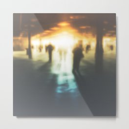 Walk in the Ghost City Metal Print