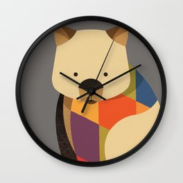Wombat Wall Clock
