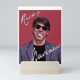 Risky Business Mini Art Print