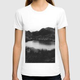Fairy Glen, Isle of Skye, B/W T-shirt