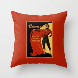 Carmen Opera (Toreador) Throw Pillow