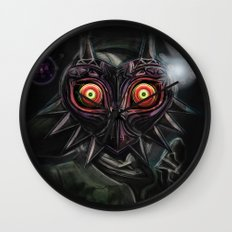Legend of Zelda Majora's Mask Link Wall Clock