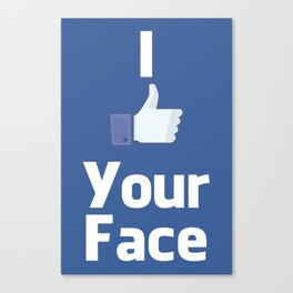 Your Face Canvas Print