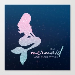 Mermaid #1 Canvas Print