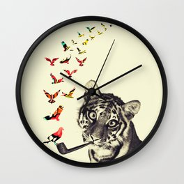 This is Not a Tiger Wall Clock