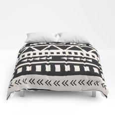 Boho style pattern Comforters