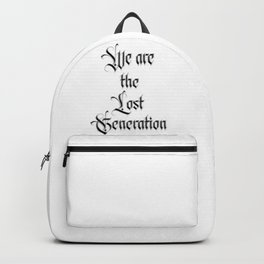 We are the lost Generation - Fight the Epidemic Backpack