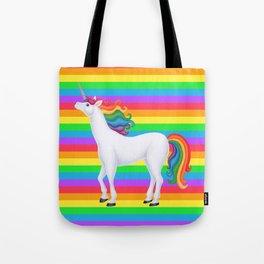 whimsy (rainbow unicorn) Tote Bag
