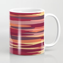 Camouflage Stripes Coffee Mug