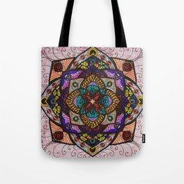 Love Mandala - מנדלה אהבה Tote Bag