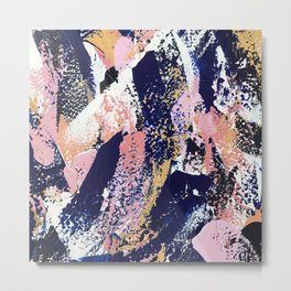 Abstract Camille Metal Print